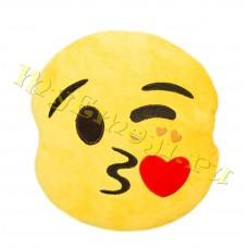 Emoji car blowing kiss