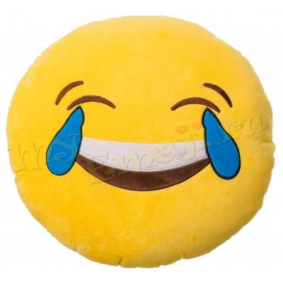 Laugh to tears подушка смайлик смех до слёз