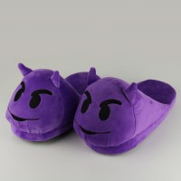 Slippers Purple Demons