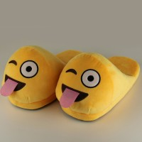 Slippers Teasing smile
