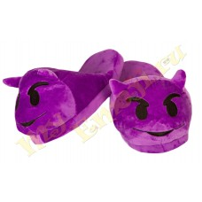 Slippers Purple Demons