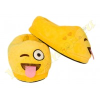 Slippers Teasing smile